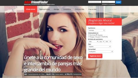 La red social de contactos sexuales AdultFriendFinder, hackeada