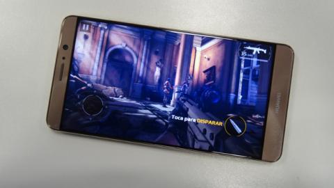 Modern Combat 5 poniendo a prueba el rendimiento del Huawei Mate 9
