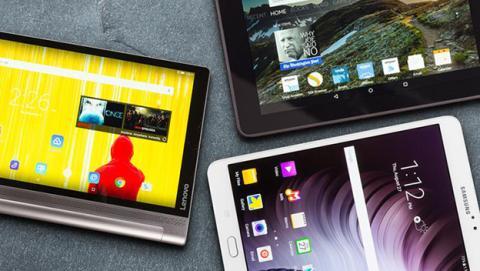 Mejores tablets y convertibles Android de 2016