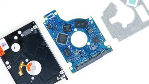 Este tipo de almacenamiento es un híbrido que utiliza las tecnologías de SSD y HDD