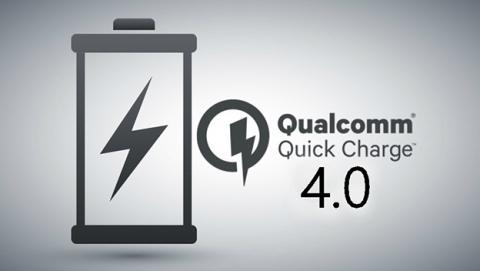 Quick Charge 4.0: 5 horas de batería con 5 minutos de carga