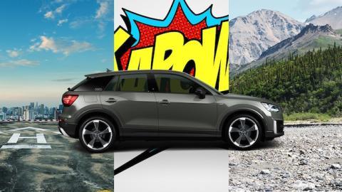 Audi Q2 imposible de etiquetar #untaggable
