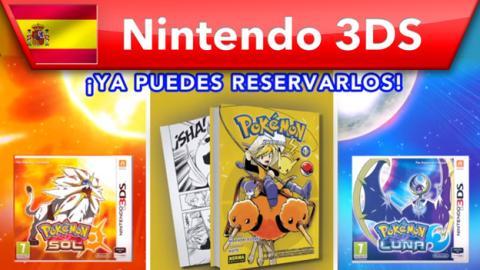Lo primero, reservar Pokémon Sol y Luna