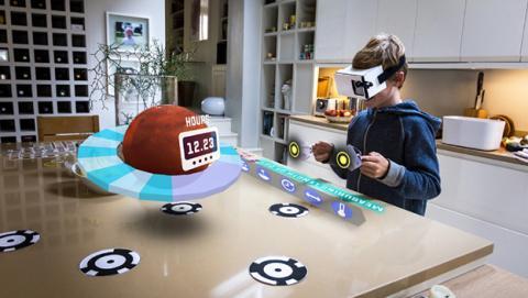Zapbox, realidad aumentada estilo Hololens a 30 dólares