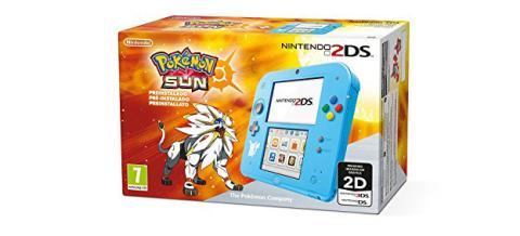Edición de la Nintendo 2DS con Pokémon Sol