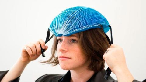 casco ciclistas papel