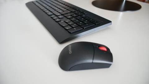Lenovo Thinkcentre X1, teclado y ratón
