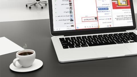 El virus en Facebook de la imagen .SVG