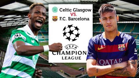 celtic vs barcelona, celtic barça, celtic barcelona champions, champions league celtic barcelona, como ver celtic barcelona