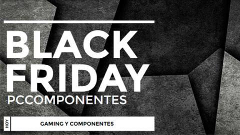 Black Friday en PcComponentes: especial gaming y componentes