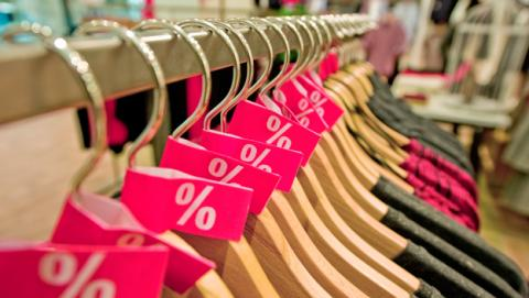 Rebajas del Black Friday en tiendas de ropa