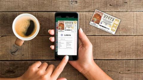 Esta aplicación conecta a los usuarios con las Administraciones de Loterías