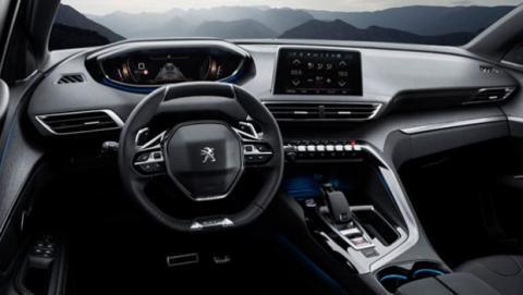 El interior del nuevo Peugeot 3008 incorpora el sistema i-Cockpit