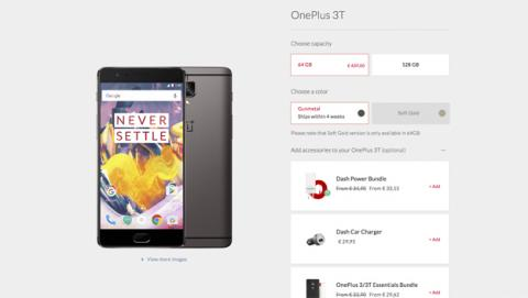 El OnePlus 3T ya se puede comprar en España