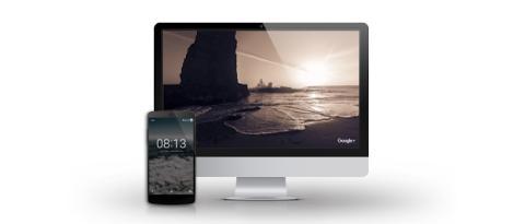 Así lucen los salvapantallas del programa de Google en un Mac