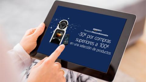 La oferta de Amazon para productos reacondicionados