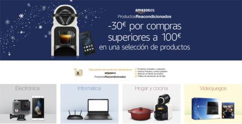 Los reacondicionados de Amazon