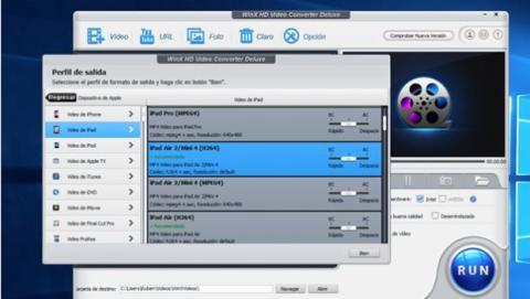 Convertir el vídeo creado desde tu DVD y convertirlo para verlo en un iPad