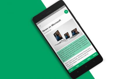 Clip Layer para copiar y pegar texto en Android