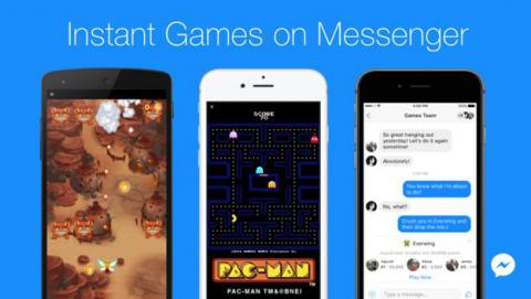 Instant Games, los juegos de Facebook Messenger