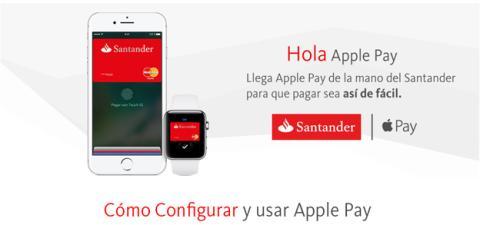 Apple Pay Santander