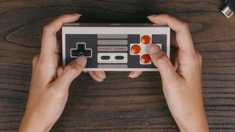 Mando inalámbrico para Mini NES