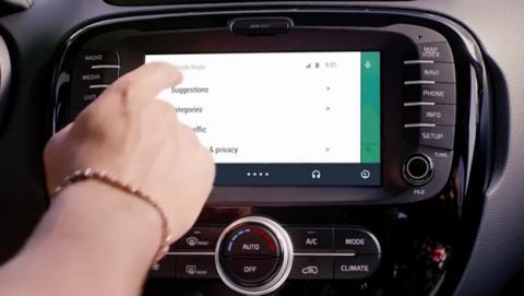 Android Auto con Ok Google