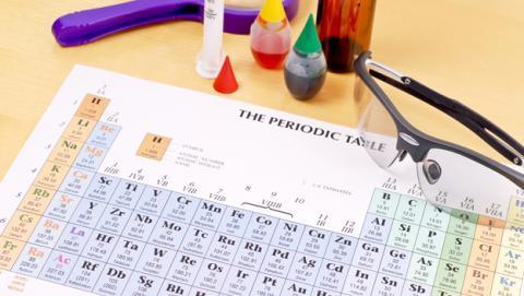 La tabla periódica actualizada con cuatro nuevos elementos