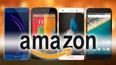 Móviles reacondicionados de Amazon
