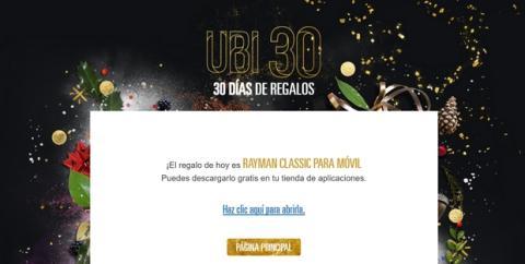 Ubi 30, un mes de juegos gratis y regalos de Ubisoft en diciembre
