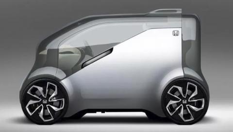 Coche autónomo Honda NeuV