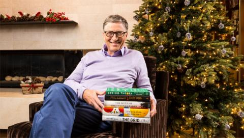 Los libros que Bill Gates recomienda en 2016