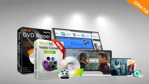 Cómo convertir DVD o vídeo en 4K a MP4 sin perder calidad