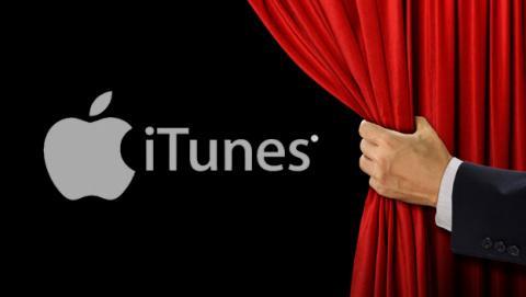Alquiler de películas de estreno en el iTunes de Apple
