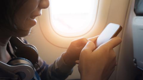 Llamar durante los vuelos en avión quizás se haga realidad