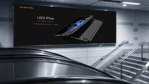 El nuevo Oukitel U20 Plus con acabado Jet Black