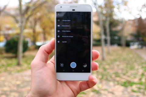 Modos de cámara del Google Pixel XL