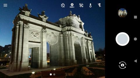 Aplicación de cámara del Pixel XL