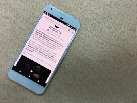 Modo Noche en el Google Pixel XL