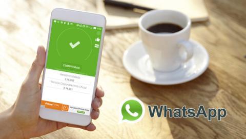 La aplicación que te dice si tienes tu WhatsApp actualizado a la última versión
