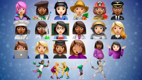 Los emojis que trae iOS 10.2
