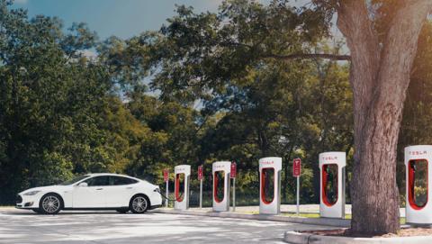El último problema de Tesla con los puntos de carga
