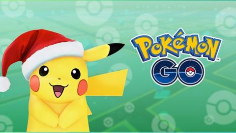 Pikachu navideño