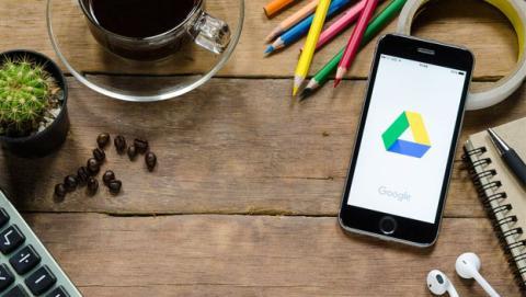 Google Drive en iOS
