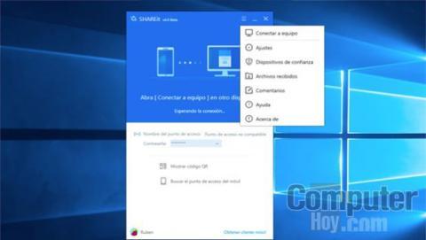 Conectar tu ordenador y tu smartphone o tablet