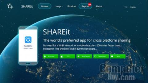 Descargar SHAREit para Windows