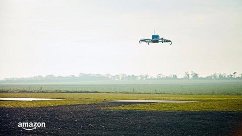 Amazon realiza primera entrega por drone