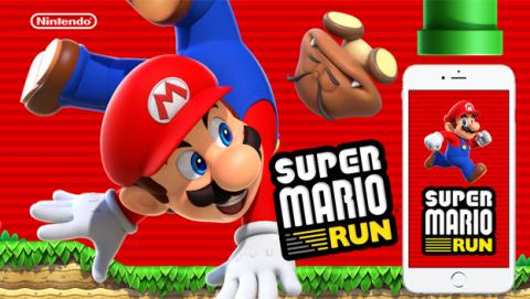 Super Mario Run en el iPhone