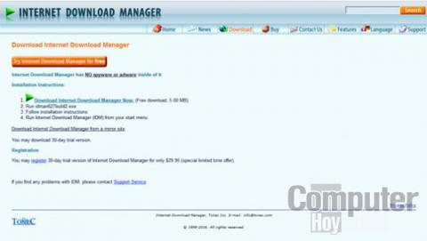 Descarga Internet Download Manager