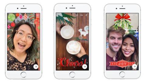 Facebook Messenger estrena cámara con filtros tipo Snapchat
